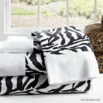 Mendekorasi Kamar Tidur dengan Motif Zebra