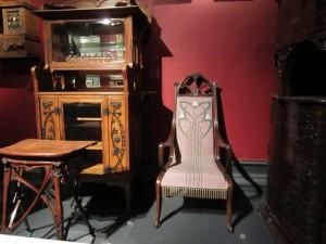 Art Nouveau style furniture