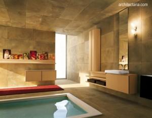 desain kamar mandi dengan spa pribadi