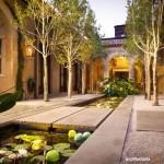 Membangun Taman Bergaya Mediterania di Rumah