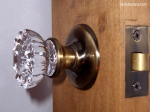 door knob diamond