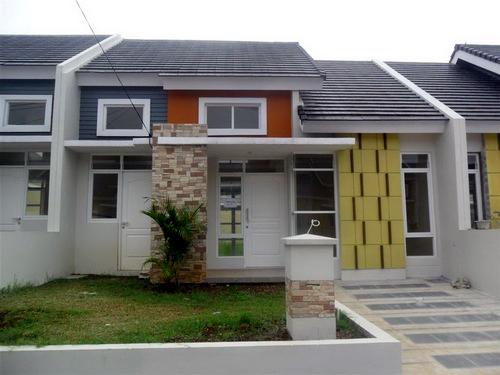 Renovasi Tampak Depan Rumah Minimalis  renovasi dan pengembangan rumah type 47 136 bukit cimanggu