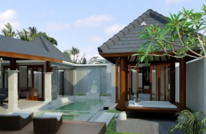 saung - gazebo tradisional ala Bali