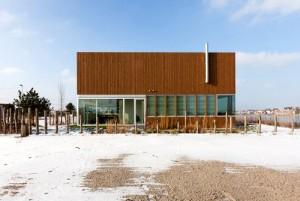 desain arsitektur casa ijburg - exterior view 1