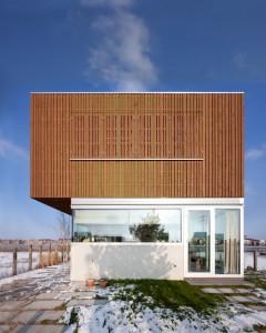 desain arsitektur casa ijburg - exterior view 2