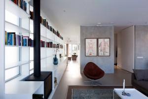desain arsitektur casa ijburg - interior view 2
