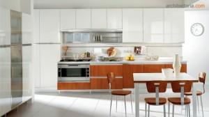 desain dapur modern bergaya italia