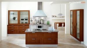 desain dapur modern bergaya italia - view 2