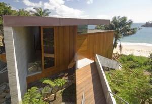 desain eksterior rumah dari kayu