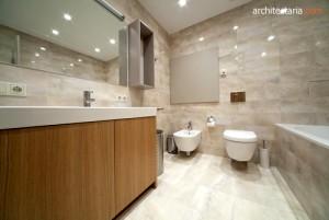 desain interior kamar mandi yang modern dan bersih