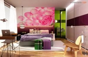 tips menata ulang kamar dengan dekorasi bunga pt
