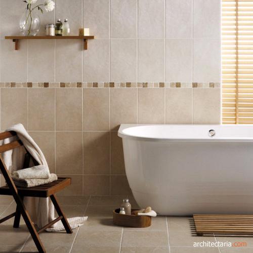 Memilih ubin yang tepat untuk ruangan di rumah anda pt for Most popular bathroom tile designs