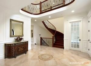 lantai keramik (ceramic tile flooring)