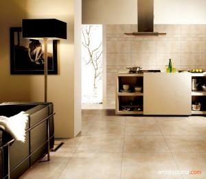 lantai porselain (porcelain tile flooring)