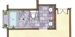 oculus bath - layout