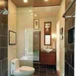 Desain Kamar Mandi Alternatif Untuk Ruangan yang Mungil