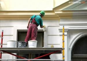 pengecatan ulang dinding eksterior rumah