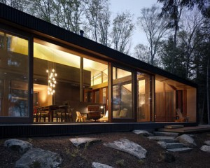clear lake cottage - exterior design view 2