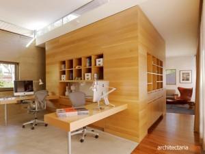 desain interior dan furniture ruang kerja - view 3