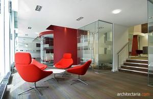 desain interior kantor bergaya modern