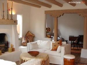 desain interior rumah adobe