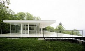 platform house dengan atap datar