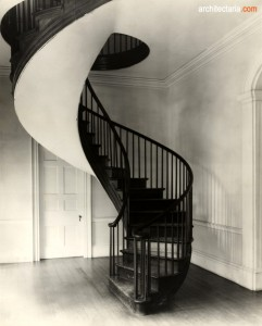 classic spiral stair