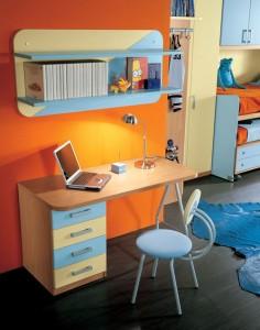 desain interior dan pencahayaan kamar tidur anak 2