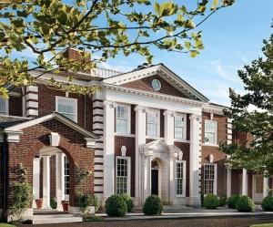 desain rumah mewah bergaya Georgia