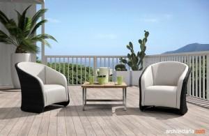 kursi dan meja patio