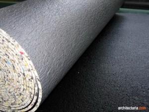 Padding carpet