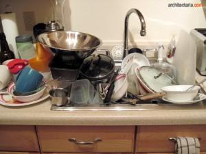 dapur yang kotor