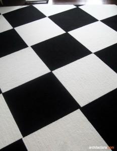 ubin vinyl papan catur