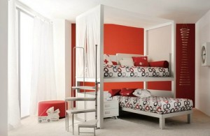 canopy bed untuk anak laki-laki