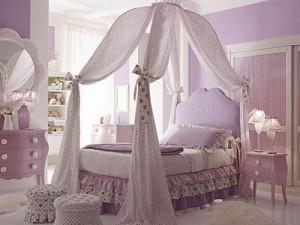 canopy bed untuk anak perempuan