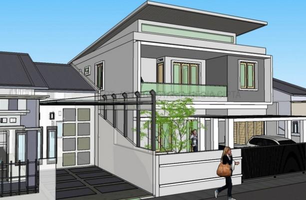 desain rumah_jagakarsa_view 2