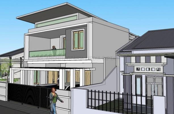 desain rumah_jagakarsa_view 3
