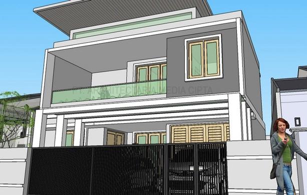 desain rumah_jagakarsa_view 6