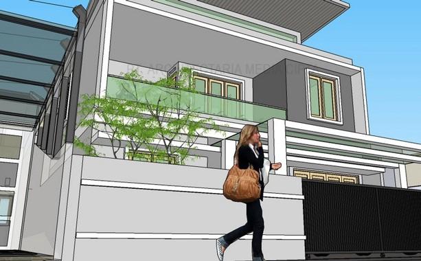 desain rumah_jagakarsa_view 7