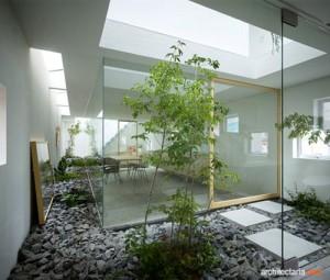 indor garden dengan atrium