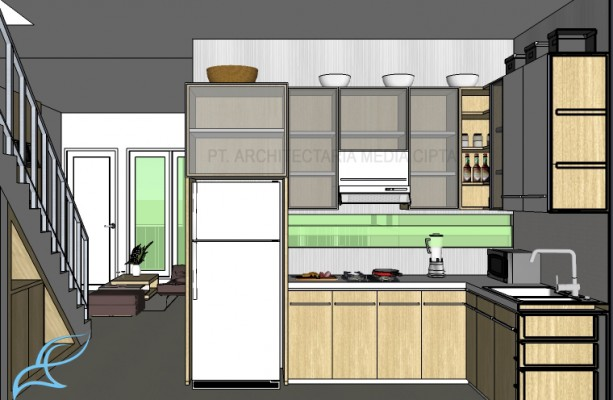 rumah bendungan hilir_interior_dapur