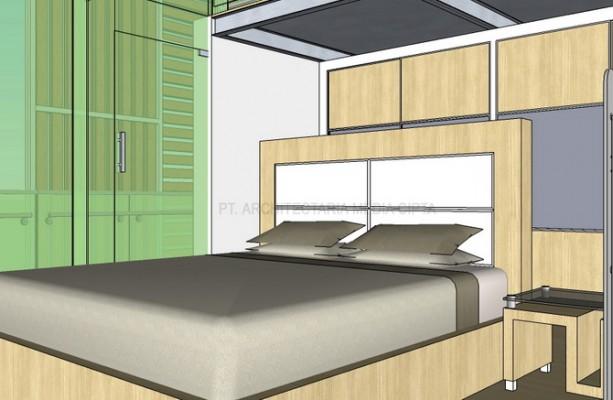 rumah bendungan hilir_interior_kamar utama3A