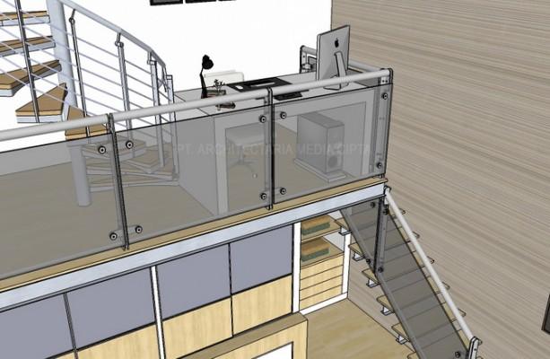 rumah bendungan hilir_interior_kamar utama7A