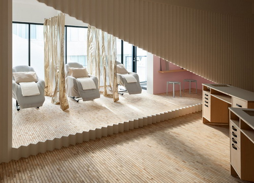 Desain Interior Salon Kecantikan di Jepang yang Bernuansa Soft | PT ...
