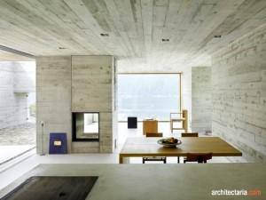 desain interior concrete house