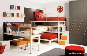 desain interior kamar tidur anak kembar_1