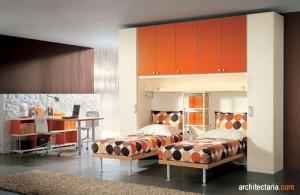desain interior kamar tidur anak kembar_2