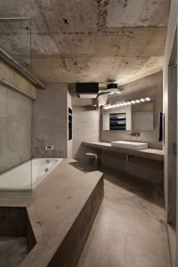 Concrete apartment_16