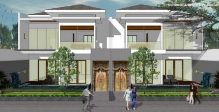 Desain Arsitektur Villa/Resort Modern Tropis di Seminyak – Bali