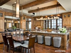 desain interior dapur dan ruang makan mewah_1